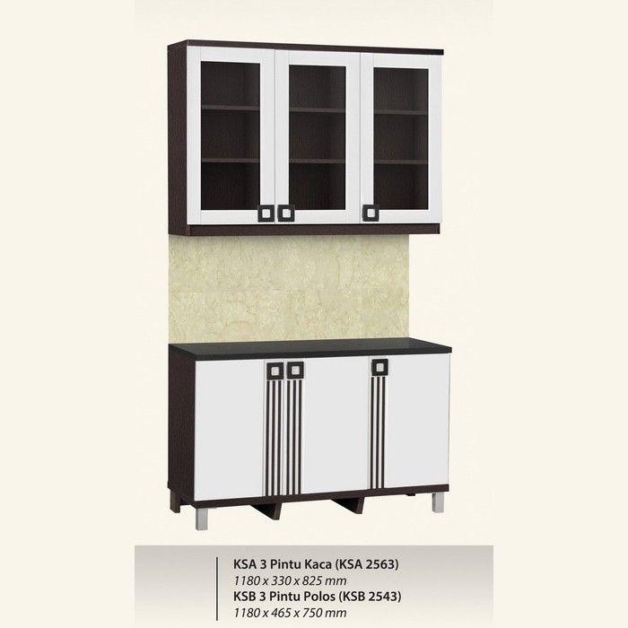 Kitchen Set Graver Infinity Series Ksa 2563 Ksb 2543